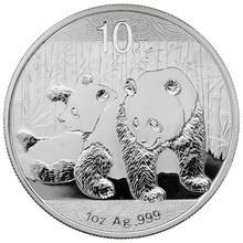 2010 1oz Silver Chinese Panda