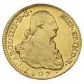 1807 Charles IV Gold 2 Escudos