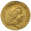 1718 George I Quarter Guinea Gold Coin