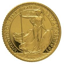 1993 Tenth Ounce Proof Britannia Gold Coin