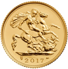 2017 Sovereign Gold Coin Gift Boxed