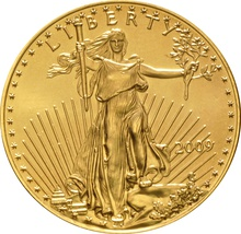 2009 1oz American Eagle Gold Coin