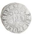 Edward I Silver Penny - Fine {1-22-F001A}