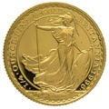 1996 Quarter Ounce Proof Britannia Gold Coin