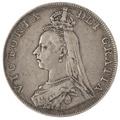 1887 Victoria Double Florin - Fine