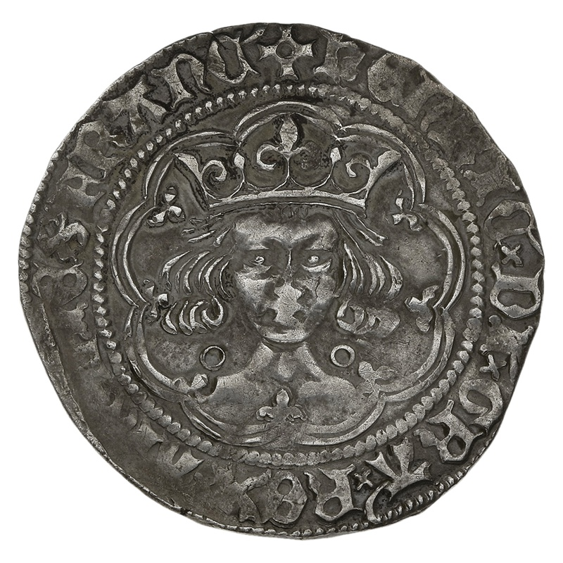 1422-7 Henry VI Silver Fourpence Annulet Issue - mm Pierced Cross