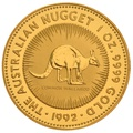 1992 1oz Gold Australian Nugget