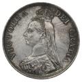 1887 Queen Victoria Silver Double Florin