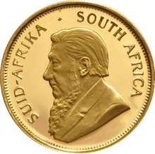 1989 Proof Half Ounce Krugerrand Gold Coin