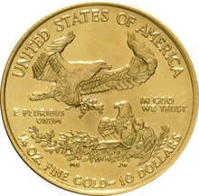 2014 Quarter Ounce Gold Eagle