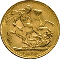 1920 Gold Sovereign - King George V - P