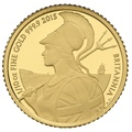 2015 Tenth Ounce Proof Britannia Gold Coin