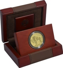 2013 American Buffalo One Ounce Gold Reverse Proof Coin Boxed
