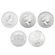 2020 1oz Silver Five Coin Set in Gift Box