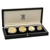 1992 Solomon Islands 50th Anniversary Battle of Guadalcanal 4-Coin Gold Proof Set Boxed
