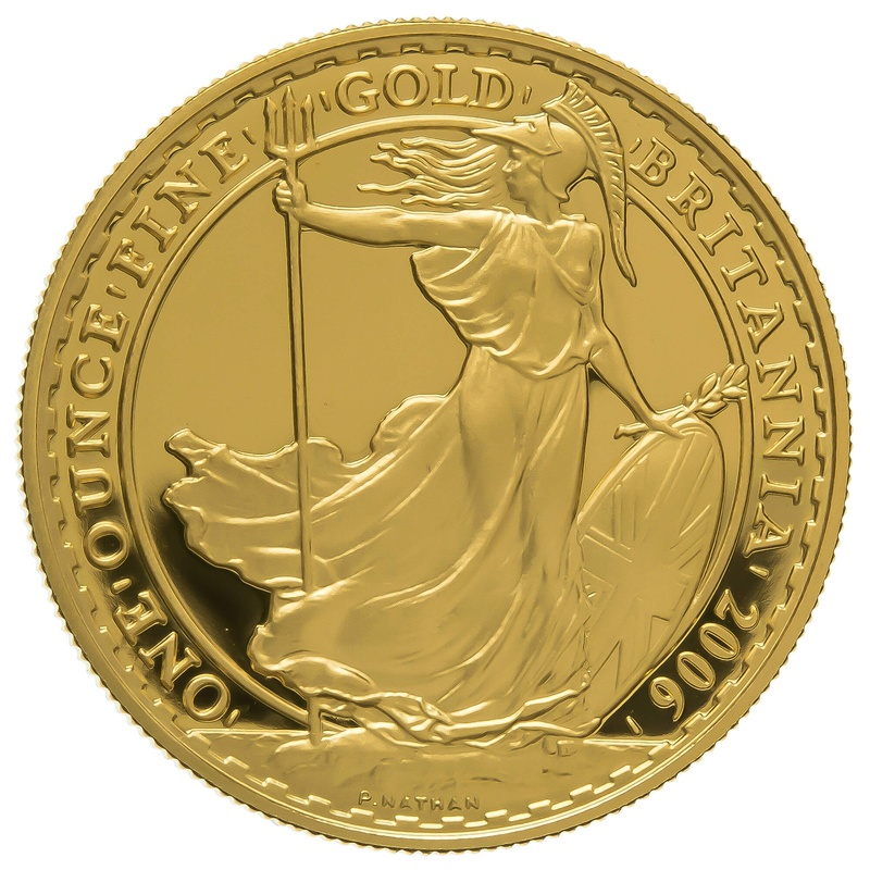 2006 One Ounce Proof Britannia Gold Coin