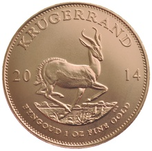 2014 1oz Gold Krugerrand Coin Gift Boxed