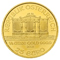 2021 Quarter Ounce Austrian Gold Philharmonic Coin