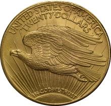 1932 $20 Double Eagle St Gaudens Head Gold Coin Philadelphia