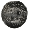 1638-42 Charles I Aberystwyth Mint Silver Twopence