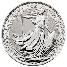 2020 Royal Mint 1oz Britannia Lunar Edge Year of the Rat Silver Coin