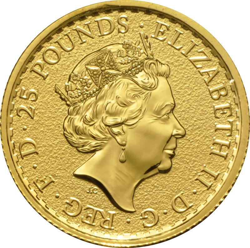 2017 Quarter Ounce Britannia Gold Coins