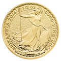 2016 Half Ounce Britannia Gold Coin