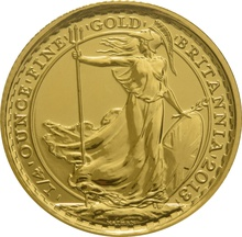 2013 Quarter Ounce Britannia Gold Coins