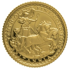 1997 Tenth Ounce Proof Britannia Gold Coin