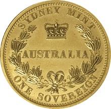 2005 Gold Sovereign - Sydney Mint Elizabeth II Old Head