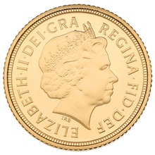 Gold Proof 2011 Half Sovereign Boxed