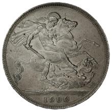 1900 LXIV Queen Victoria Silver Crown
