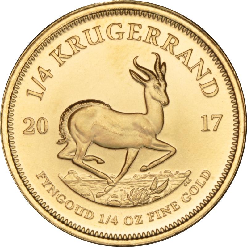 2017 Quarter Ounce Gold Krugerrand