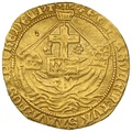 1471-83 Edward IV Hammered Gold Angel Second Reign
