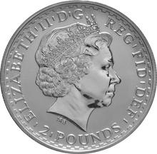 2002 1oz Silver Britannia Coin