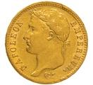 1811 20 French Francs - Napoleon (I) Laureate Head - W