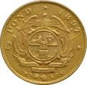1897 1/2 Pond South Africa