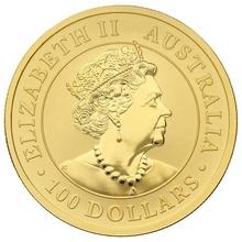 2020 1oz Gold Australian Nugget