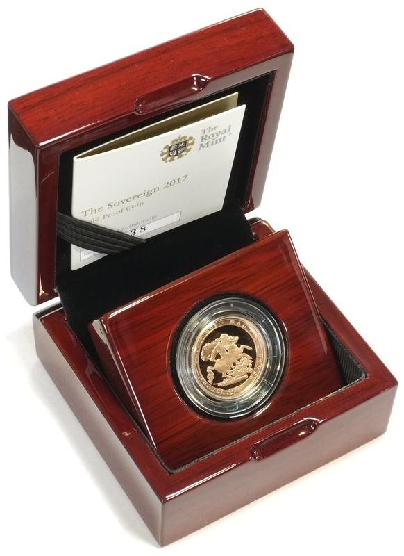 2017 Gold Proof Sovereign - Elizabeth II 5th Head Boxed