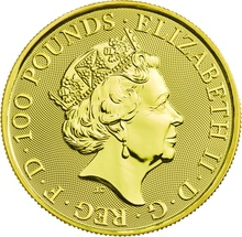 The 2019 Falcon of the Plantagenets - 1oz Gold Coin