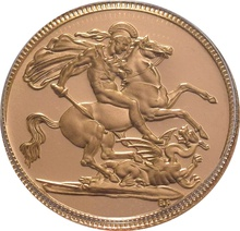 Sovereign - Elizabeth II, Third Head Proof