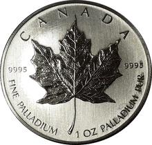 Palladium Maple 1oz Coin