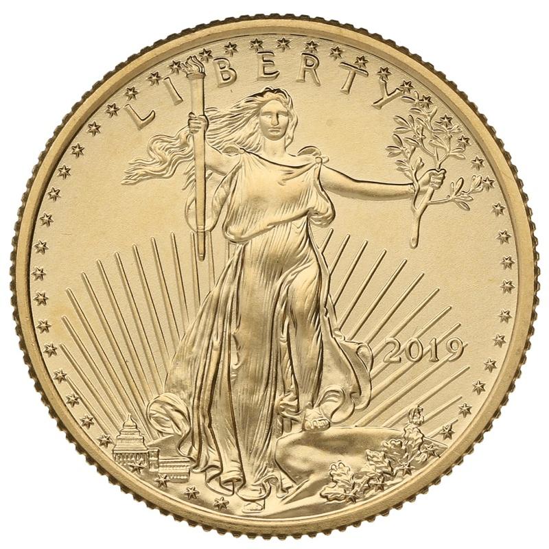 2019 Quarter Ounce American Eagle Gold Coin
