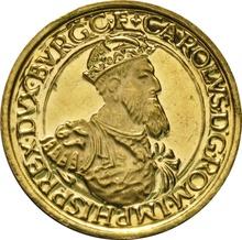 Belgium 1987 50 ECU Gold Coin