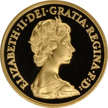1983 Two Pound £2 Proof Gold Coin (Double Sovereign)