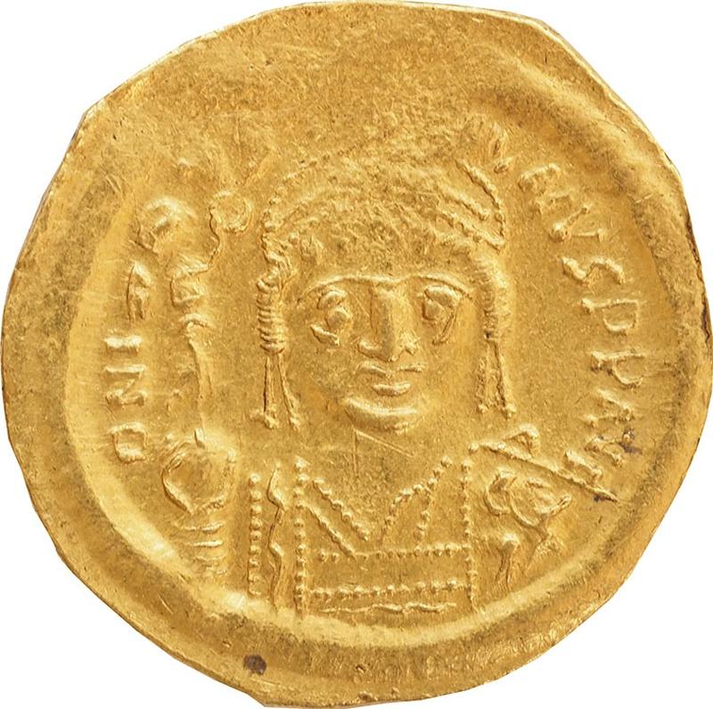 565-78 AD Justin II Gold Solidus
