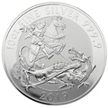 2019 Royal Mint Valiant 10oz Silver Coin