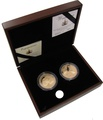 2011 - Twin Gold Five Pound Proof Coin set, Royal Engagement and Wedding coins Boxed