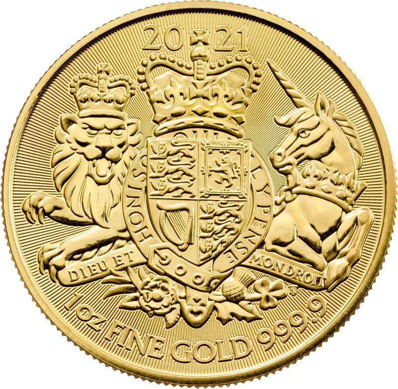 2021 Royal Arms 1oz Gold Coin