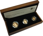 2009 Gold Proof Sovereign Three Coin Set Boxed